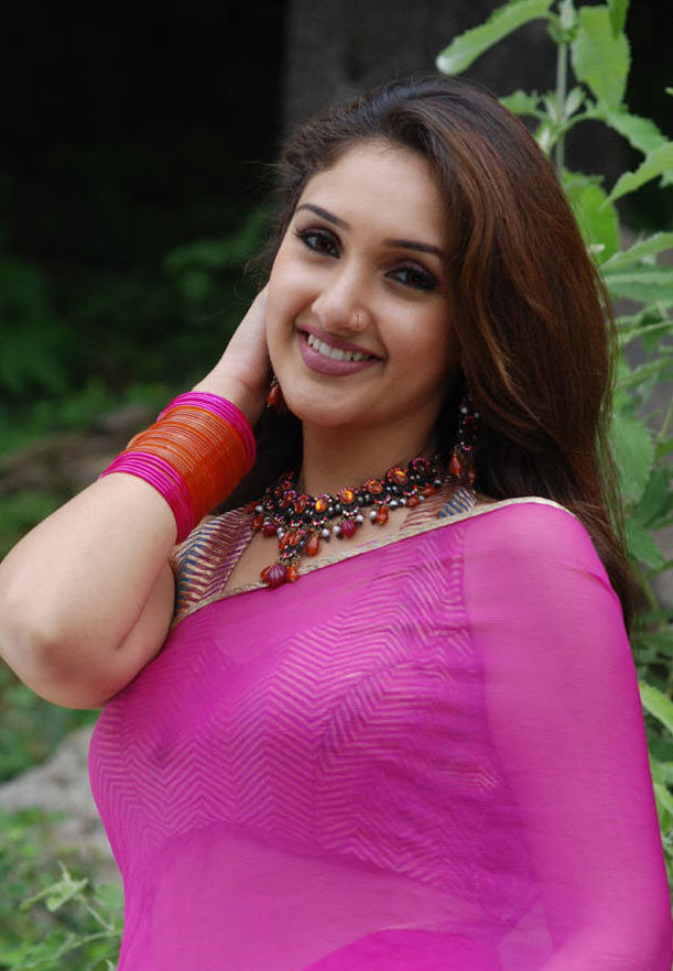 Sexy Actress Sridevi Vijayakumar In Saree Hot Photos-4616