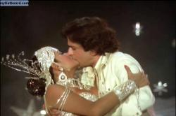 Might Not Be The Best Kiss Of Them All   But Its Zeenat Aman