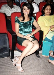 Mamatha Mohandas in Short Dress