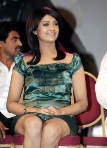 Mamatha Mohandas in Short Skirt