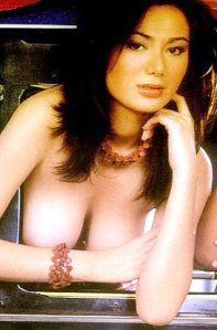 Bomb shell Francine Prieto nude milky white boobs thighs cleavage tits