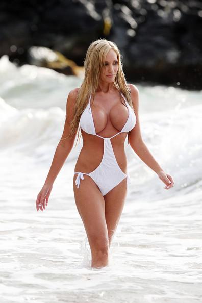 Jenna Bentley Wet Bathing Miami Beach