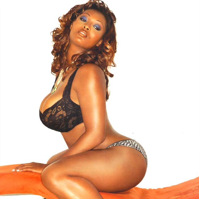 Actress Toccara Jones Boobs Nipple Thighs Bikini Wallpapers-9122