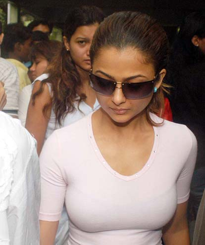With Amrita arora boob picture apologise, but