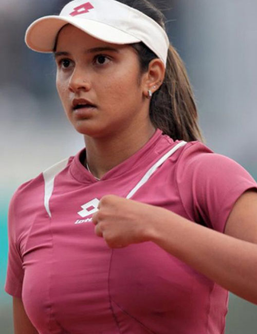 Sania Mirza Latest  Sania Mirza Navel  Sania Mirza Nip -4264